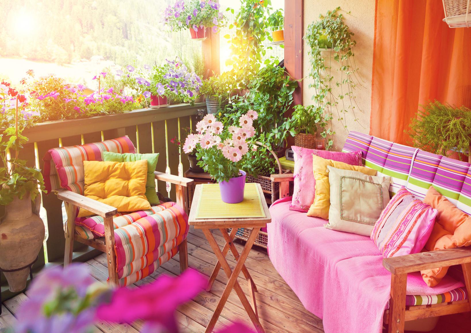 Der Schöne Balkon ? Ideen Und Tipps Zum Selbermachen ... Tipps Balkongestaltung Dekorieren